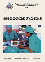The onchocerciasis educational flip chart (PDF, Spanish).