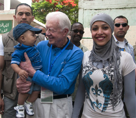 President Carter in Cairo