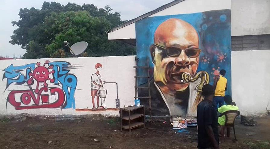 Using Art to Halt the Spread of Coronavirus in DRC (The Carter Center)