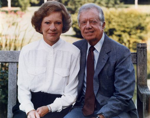 Portrait of President and Mrs. Carter