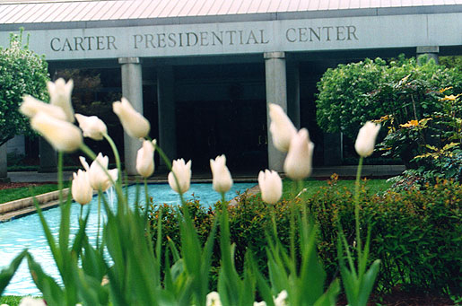 The Jimmy Carter Library and Museum entrance