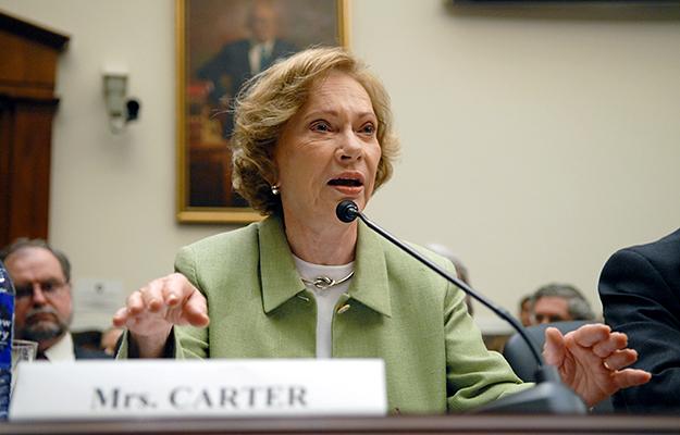 Rosalynn Carter's Leadership in Mental Health
