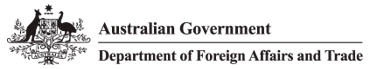 Logo for Australian Government Department of Foreign Affairs and Trade