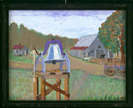 Photo of a painting by Jimmy Carter.