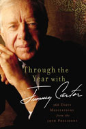 Through the Year With Jimmy Carter book cover