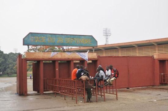 Stadium in Conakry