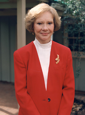 Former First Lady Rosalynn Carter