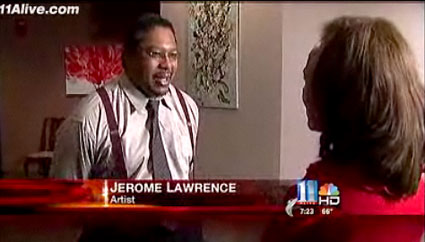 Jerome Lawrence talks to Brenda Wood
